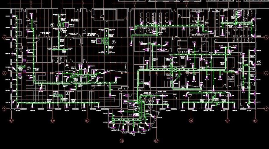 CAD Applications for BricsCAD - Bricsys - Mech-Q HVAC Ducting