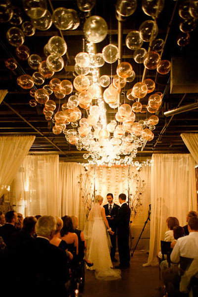 DIY We Love: Bubble Chandelier