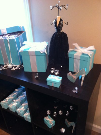 Tiffany and Co Bridal Shower Ideas - Themes
