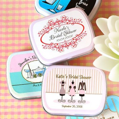 Exclusive Personalized Bridal Shower Mint Tins