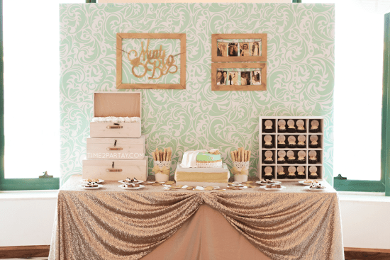 A Mint to Be Bridal Shower ideas