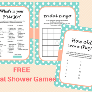 FREE Mint Bridal Shower Game