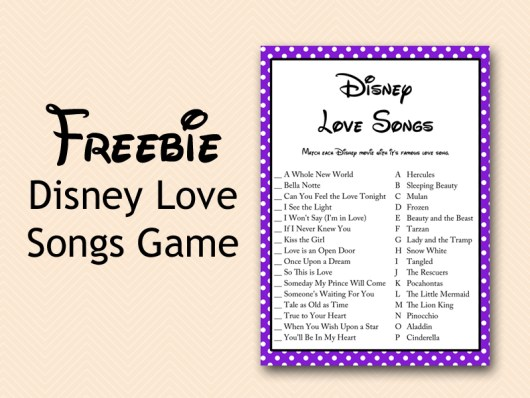 free-disney-love-song-game-bridal-shower-purple