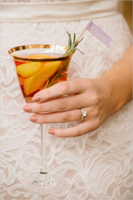 Elegant Spring Bridal Cocktail Party - Bridal Shower Ideas ...