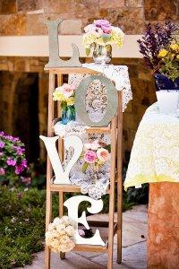 Outdoor Vintage Lace Tea Party Bridal Shower - Bridal ...