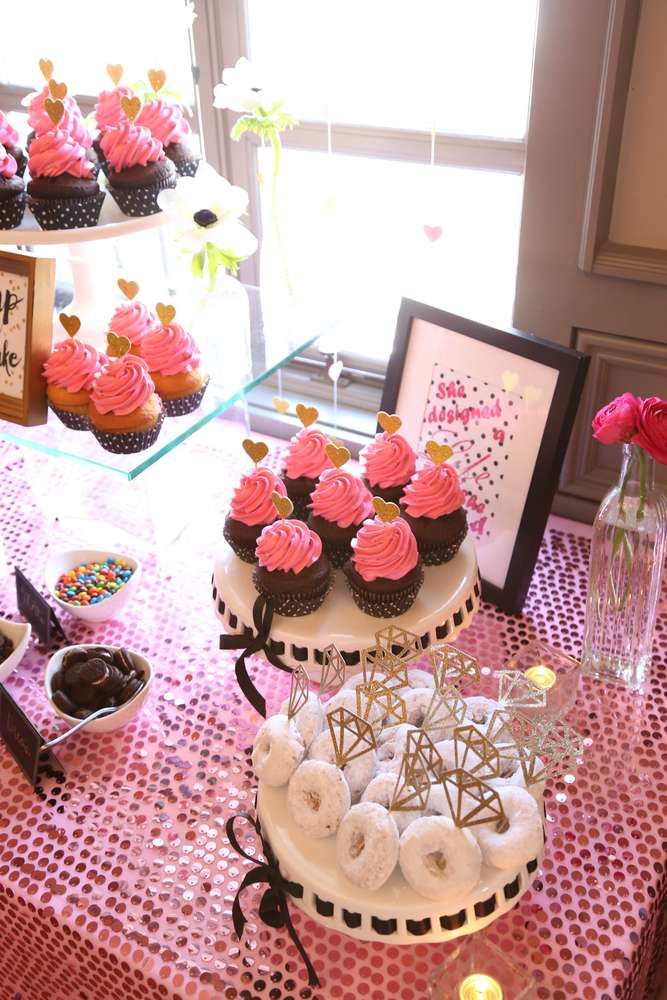 Sophisticated kate spade inspired bridal shower bridal shower ideas themes - Bridal shower themes ...