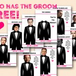 FREE Who has the Groom Game Printable