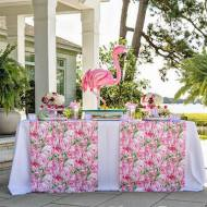Tropical-Bridal-Shower-Buffet