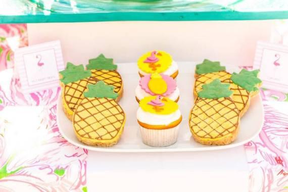 Tropical-Bridal-Shower-Cupcakes