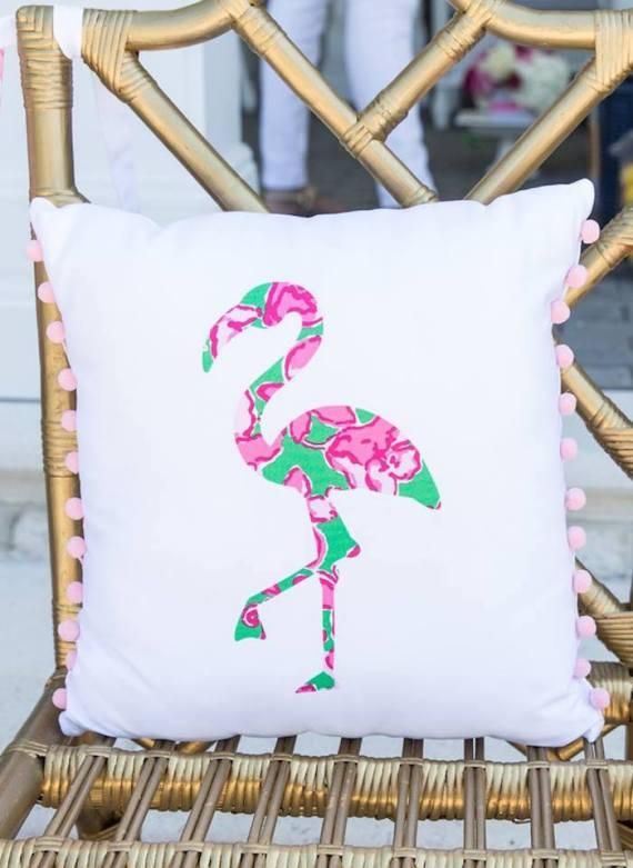 Tropical-Bridal-Shower-Flamingo-Pillow