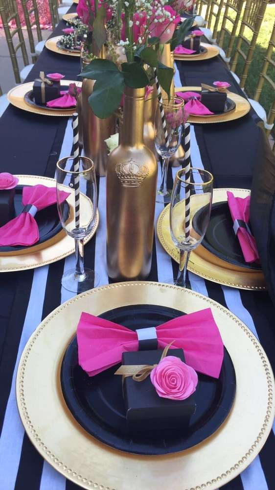 Floral-Kate-Spade-Inspired-Bridal-Shower-Bottle-Vases