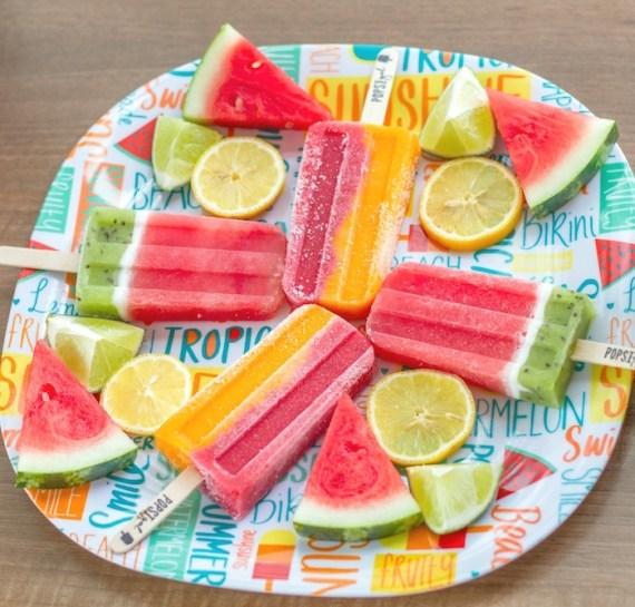 Pink-Tropical-Bridal-Shower-Fruit