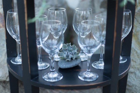 Colorful-Au-Natural-Bridal-Shower-Glassware