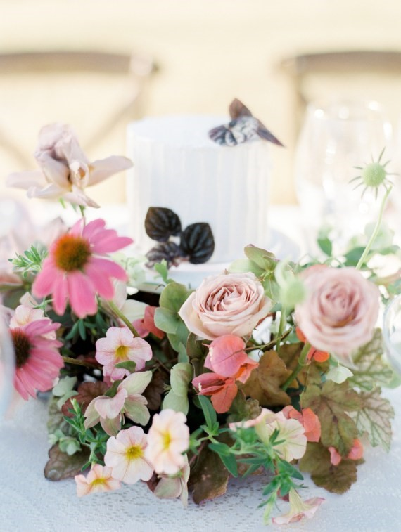 Dreamy Outdoor Bridal Shower beautiful cake