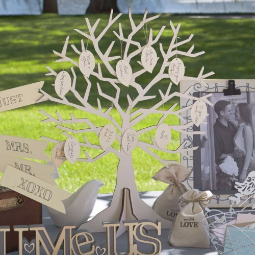 Wedding DIY Wishing Tree decoration