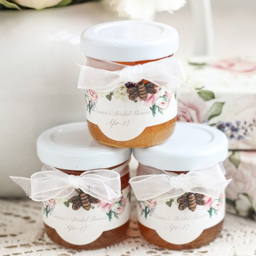 wedding favors Meant to Bee jars