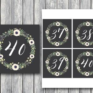 elegant-white-floral-wreath-table-numbers-wedding