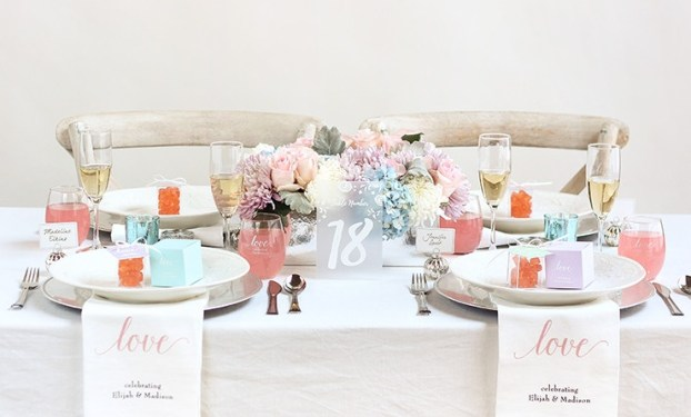 Spring Pastel Wedding Decoration Ideas