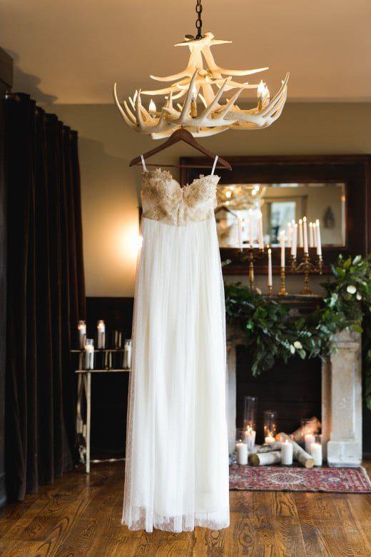 Romantic-Winter-Rustic-Wedding-Dress
