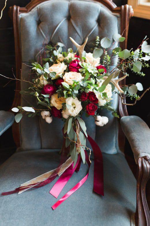 Romantic-Winter-Rustic-Wedding-Flower-Bouquet