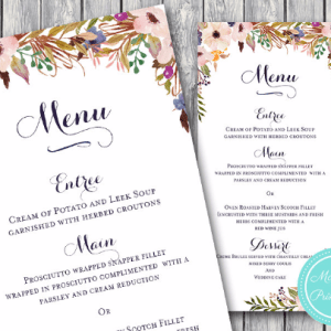 Pink-Buttercup-Wedding-Menu-Engagement-Personalized-Menu-2
