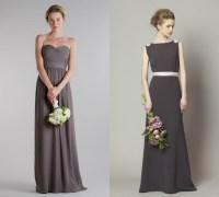 Slate Gray Bridesmaid Dresses - Discount Wedding Dresses