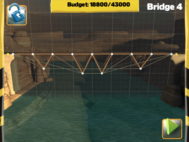 Bridge Constructor Walkthrough - Central Mainland - Bridge 4