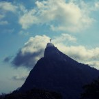 Corcovado in the distance