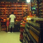 Nine hundred kinds of cachaca in Paraty