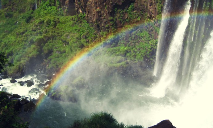 Rainbows at Iguazu