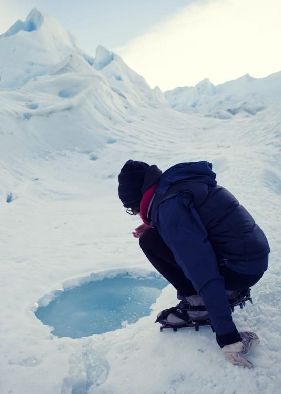 Drinking the glacier, Perito Moreno