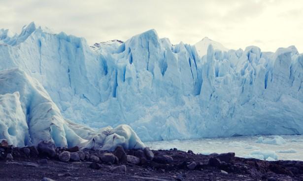 Great glacier wall, Perito Moreno