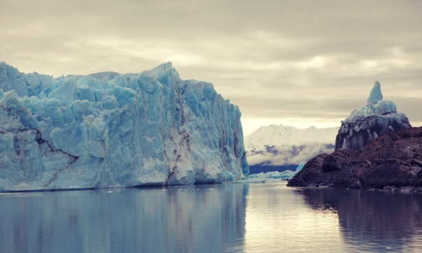 The fallen ice-bridge, Perito Moreno