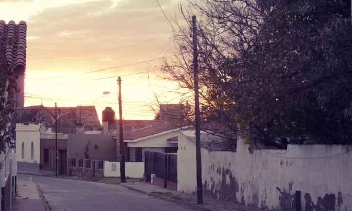 Sunset in Capilla del Monte