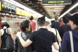 On Barcelona Metro