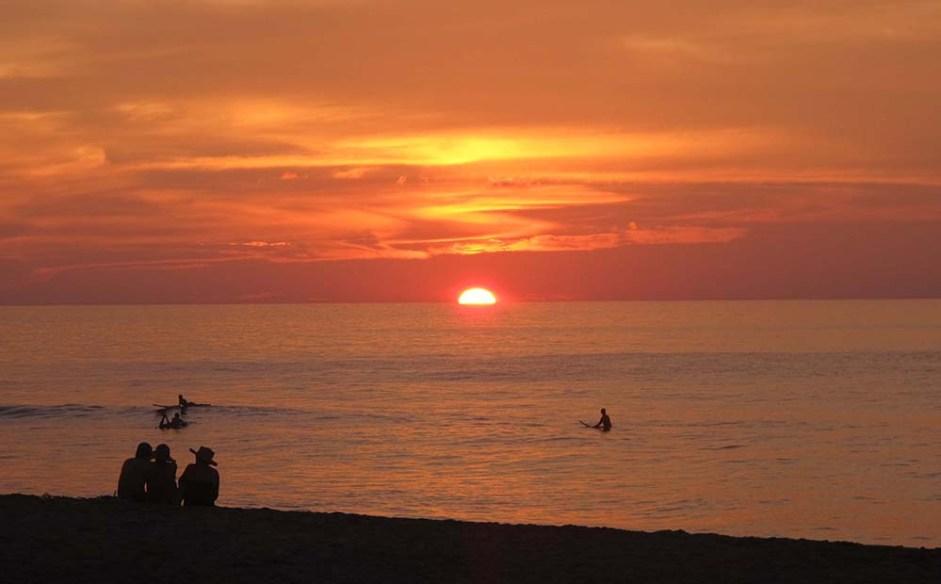 Sunset at San Pancho, Mexico