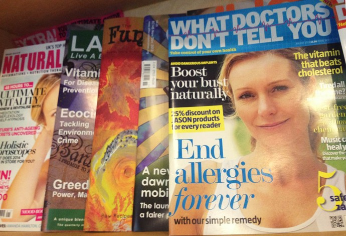 What doctors dont tell you magazine