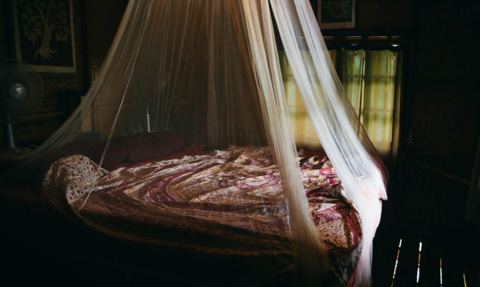 Bed at The Sanctuary Koh Phangan