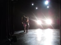 """What is Meant"" on stage Danced by Brigette Cormier and Juliana Triviño"