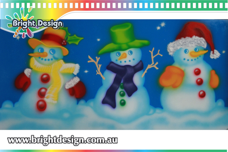 Bright Design Section 06 - Snowmen Outdoor Christmas Displays