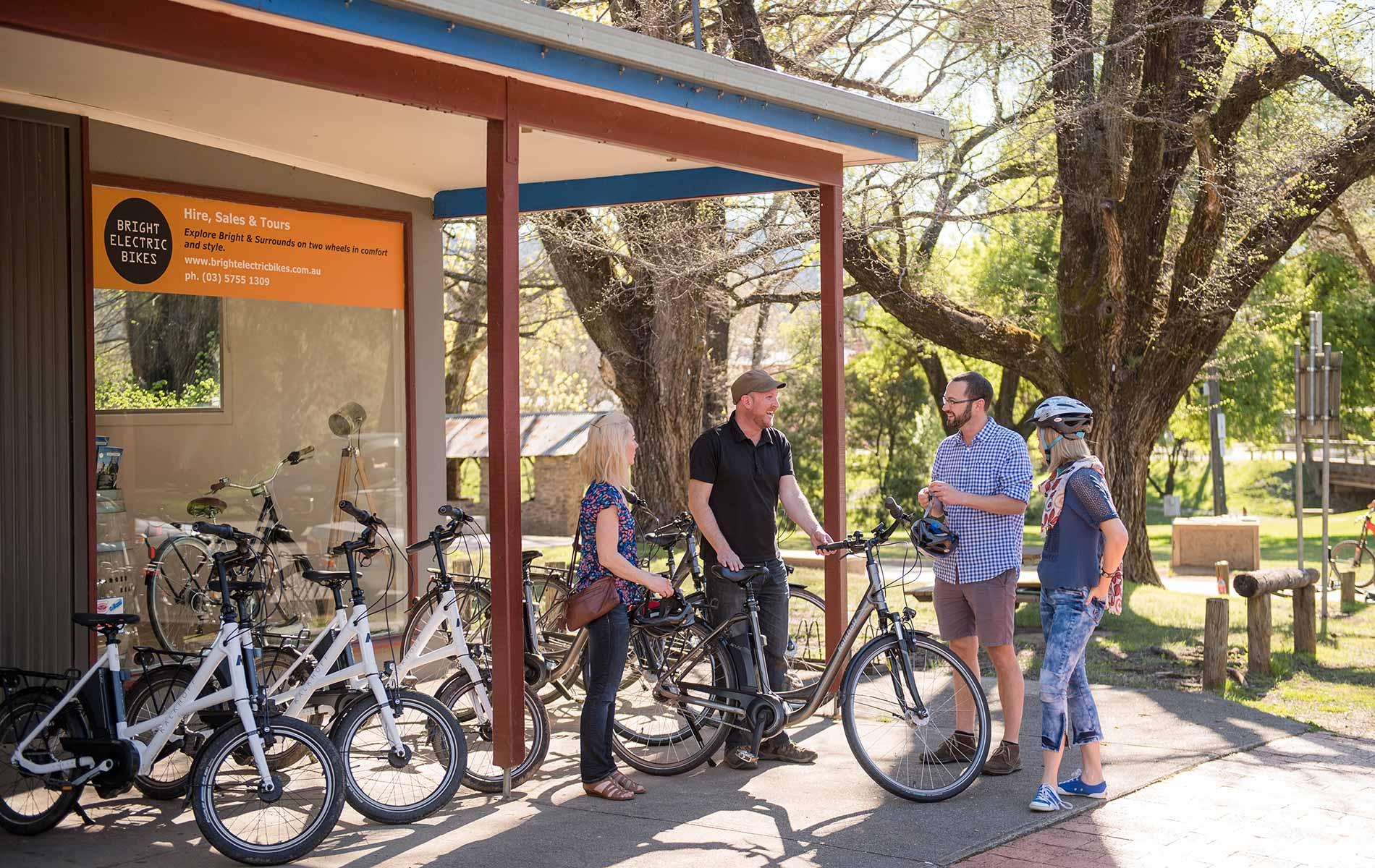 Bright Electric Bikes - Bike Hire