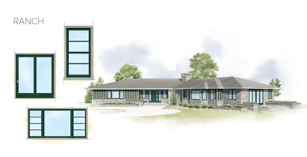 Modern Ranch Details