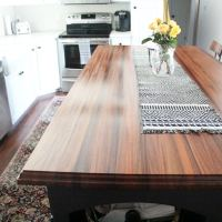 Butcher Block Hardwood Countertops