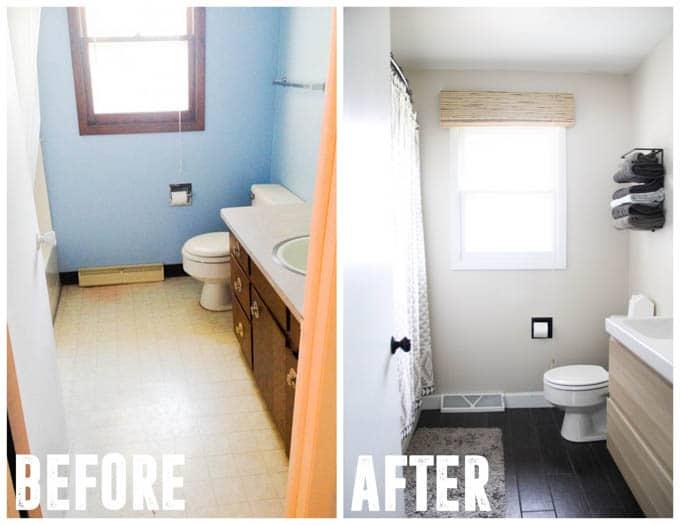 Modern Bathroom Remodel Ikea Vanity