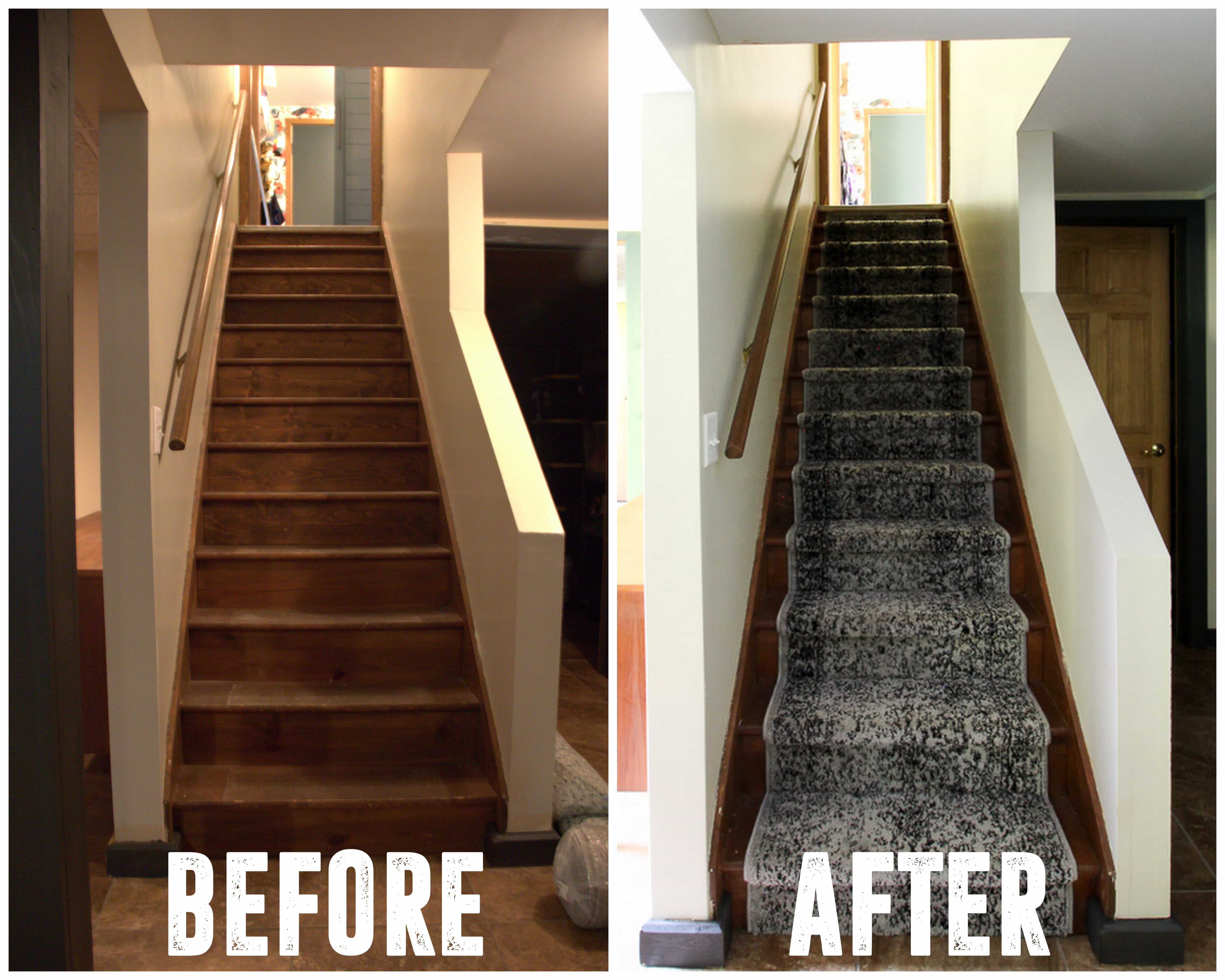 How To Install A Stair Carpet Runner Bright Green Door