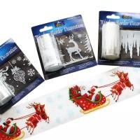 Christmas Window Borders | Bright Ideas Crafts