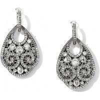 Mumtaz Mumtaz Teardrop Hoop Drop Earrings Earrings