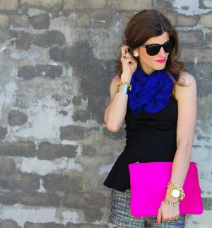 cobalt and pink