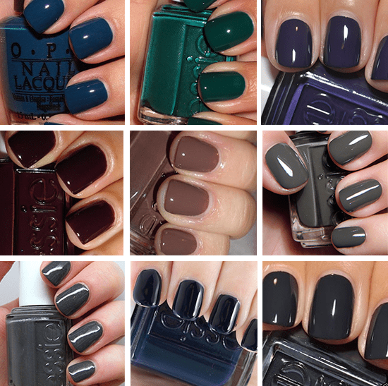 Fall Nail Color Trends | newhairstylesformen2014.com