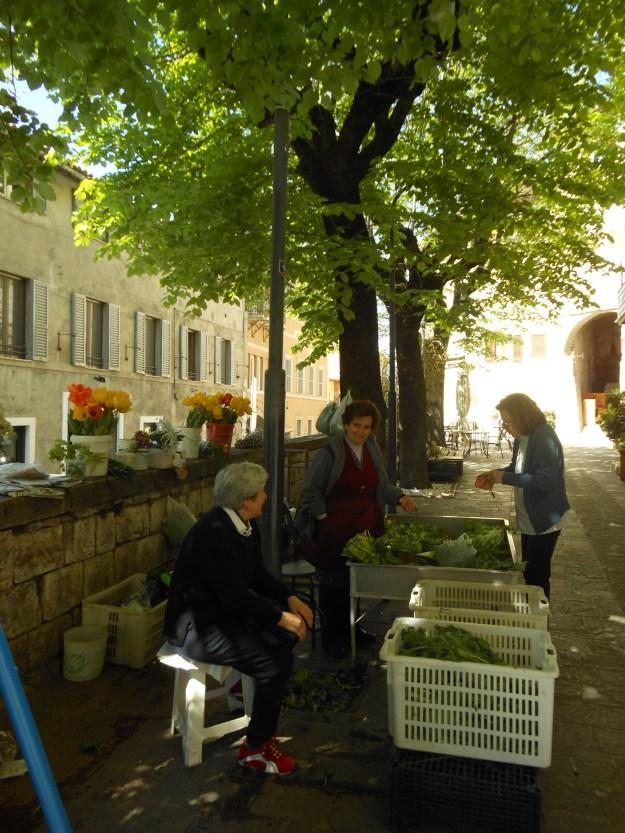 Piazzetta delle Erbe Assisi Umbria Italy